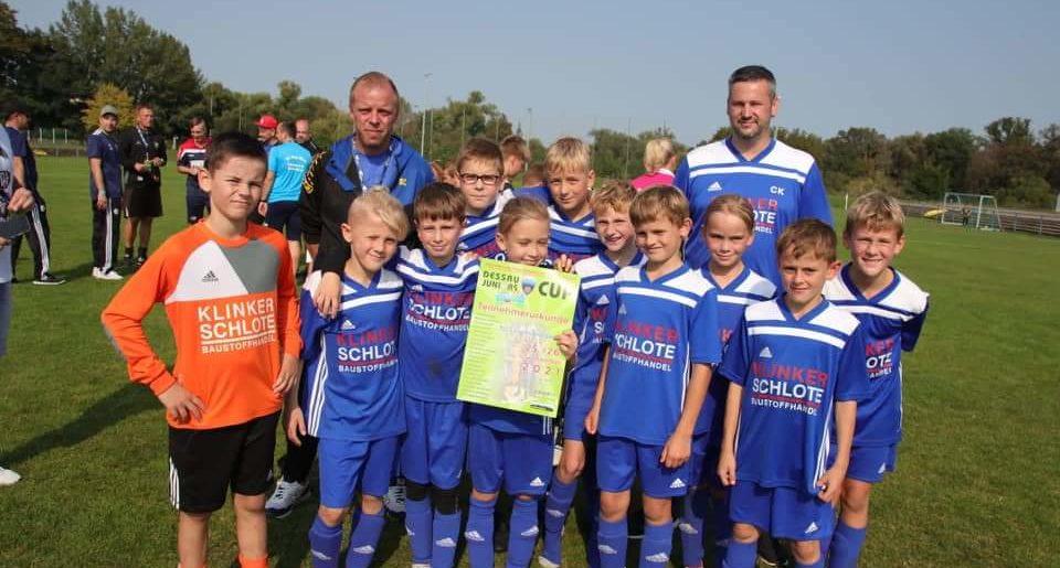 Erfolgreiche Teilnahme am 27. Dessau-Juniors Cup